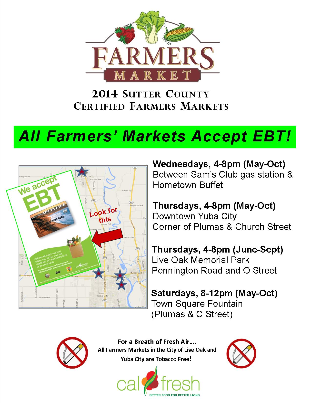2014 Farmers Market Flyer