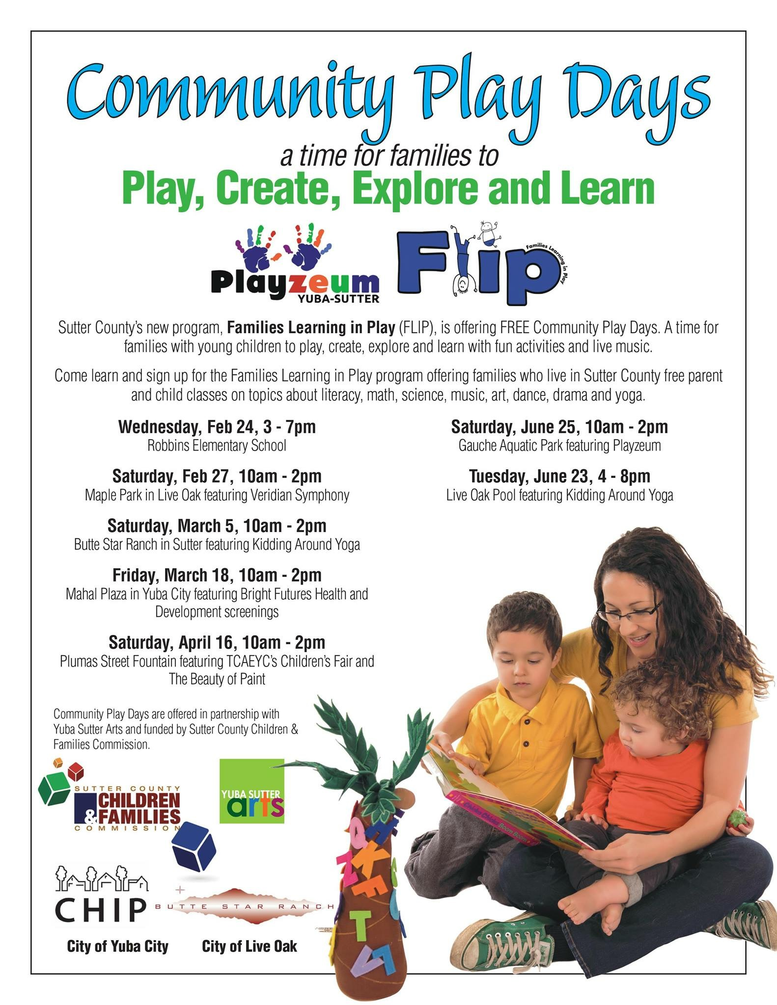 FLIP Play Day Spring-Summer 2016