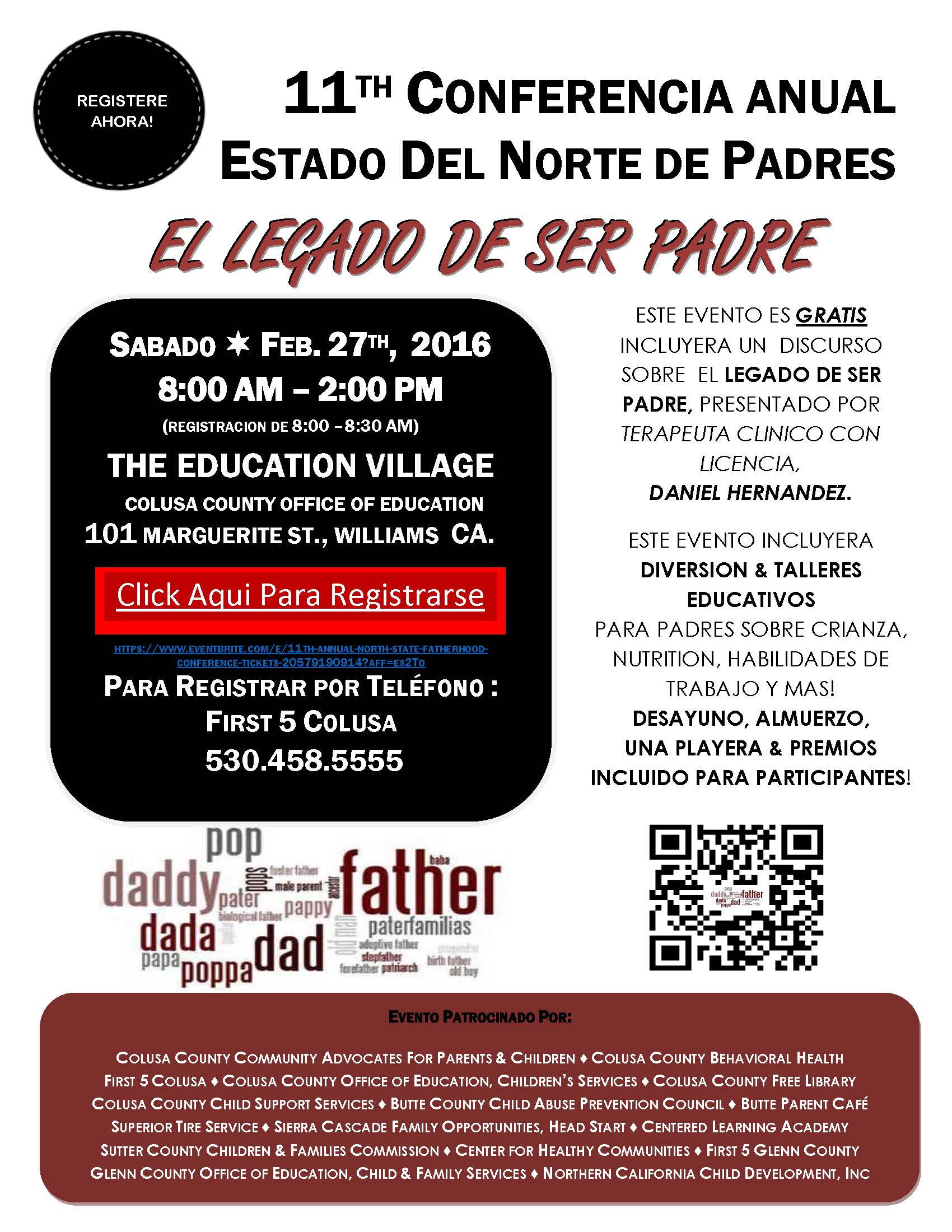 North State Fatherhood Conference-Spanish