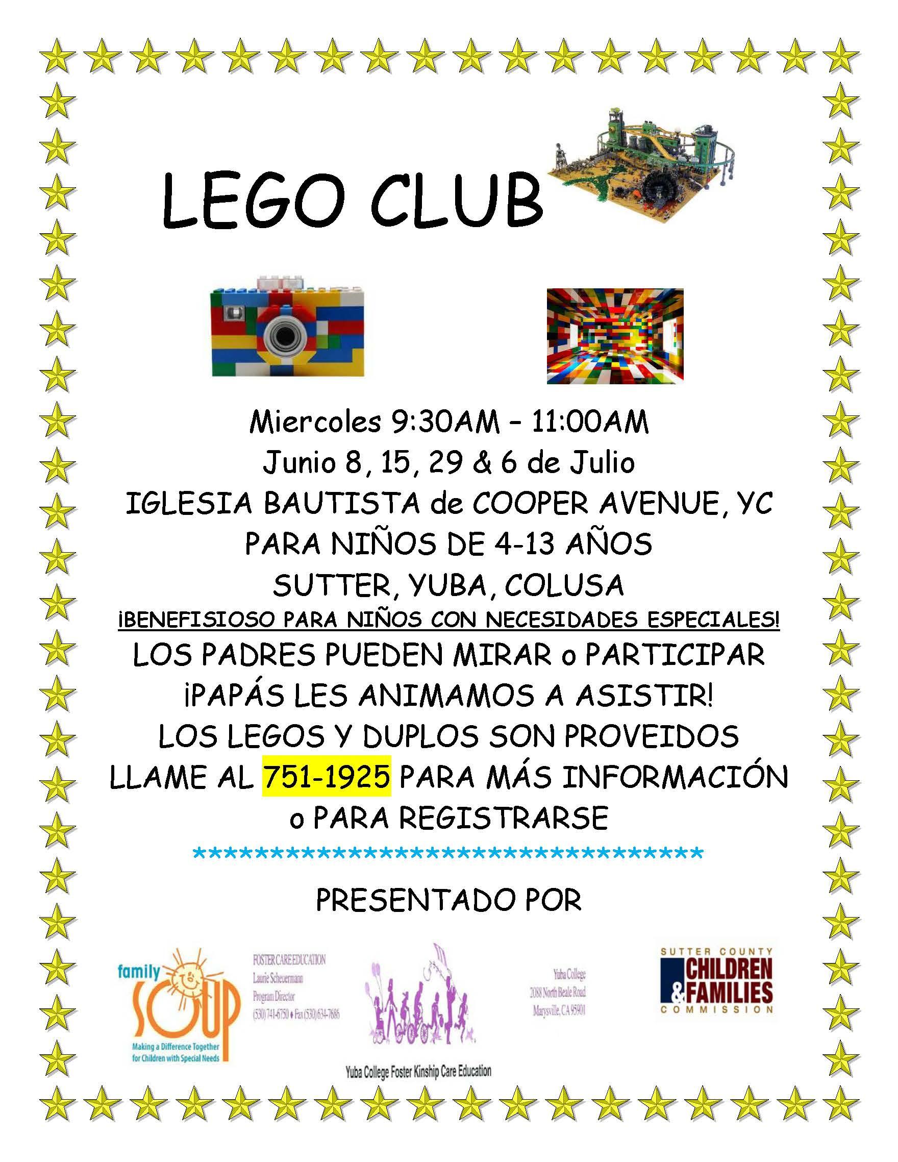 LEGO CLUB Spanish5.12.16