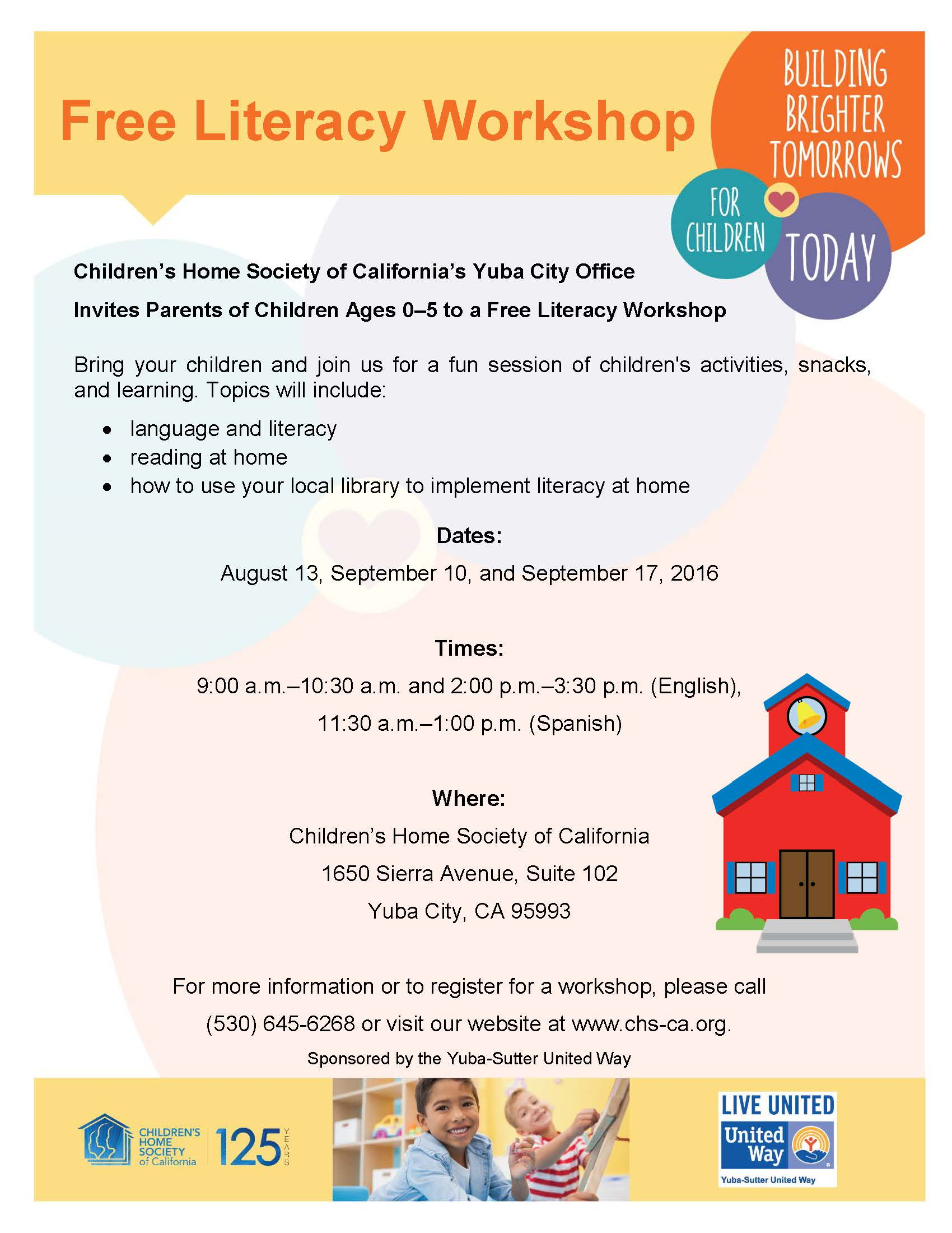 CHS Literacy Workshop