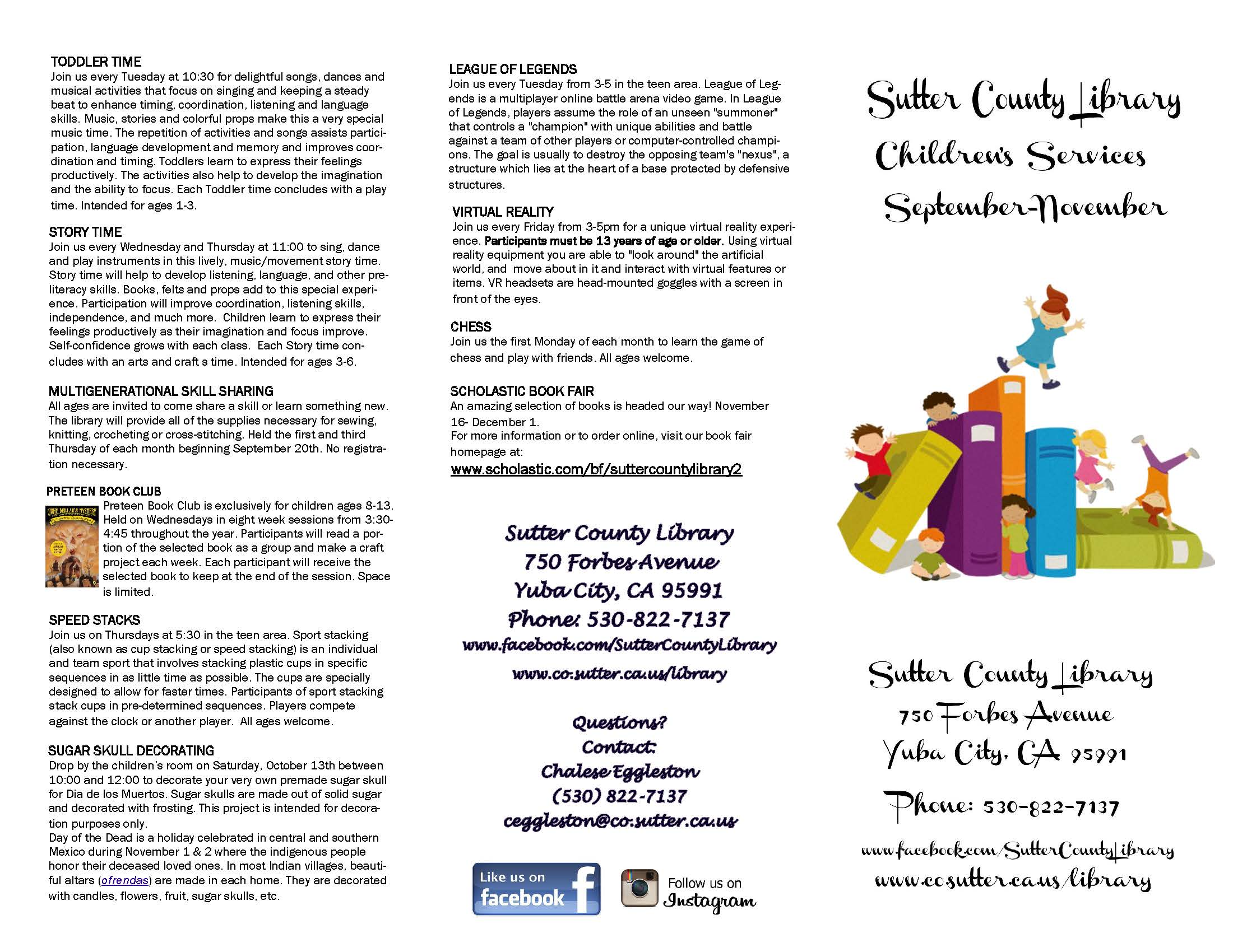August | 2018 | Sutter County Children & Families Commission
